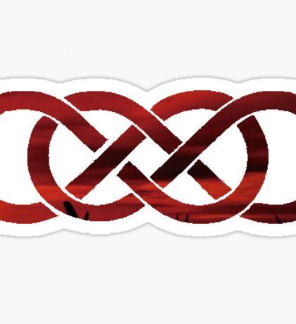 Double Infinity- abc Revenge Sticker