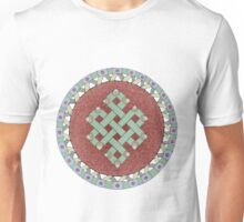 The Endless Knot Mandala Unisex T-Shirt