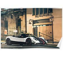 Pagani Zonda Cinque Roadster Poster