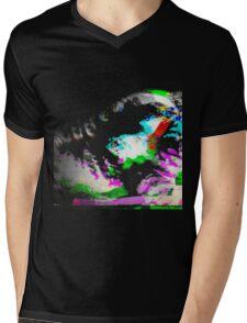 Bride Of Glitchenstein Mens V-Neck T-Shirt