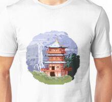 Temple Pixel Art Unisex T-Shirt