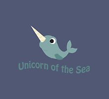 Cute Unicorn of the Sea by Eggtooth