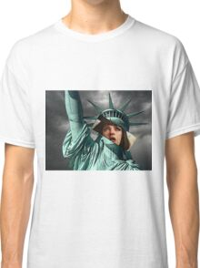 Mia Wallace Statue of Liberty Classic T-Shirt