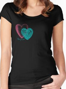 Follow Your Heart Women's Fitted Scoop T-Shirt