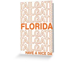 UF Tailgate Greeting Card