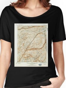 USGS TOPO Map California CA Big Trees 299223 1891 125000 geo Women's Relaxed Fit T-Shirt