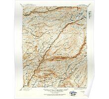 USGS TOPO Map California CA Big Trees 299223 1891 125000 geo Poster