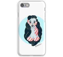 Pinup bust iPhone Case/Skin