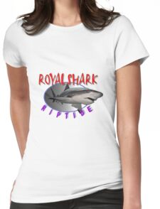 Shark 12 Womens Fitted T-Shirt
