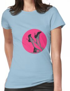 Heels Up Womens Fitted T-Shirt