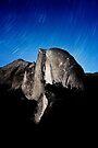 Stars trails over Half Dome by Alex Preiss