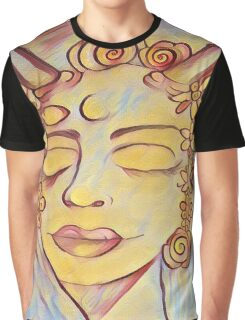 Alma The flower Deity. Graphic T-Shirt