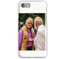 Guess who ... beards HRH Prince Michael of Kent iPhone Case/Skin