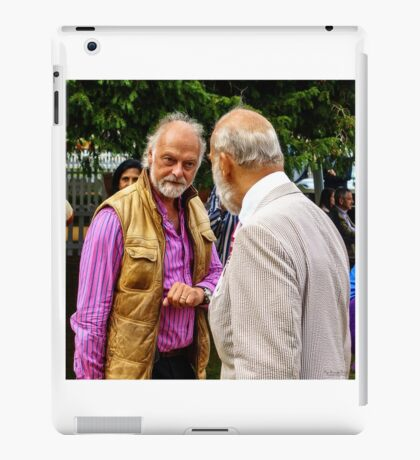 Guess who ... beards HRH Prince Michael of Kent iPad Case/Skin