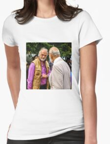 Guess who ... beards HRH Prince Michael of Kent Womens Fitted T-Shirt