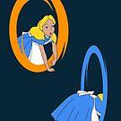 Alice Through The Portal by drsimonbutler