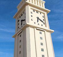 The Time Guardian - Les Sables d'Olonne, France by Tiffany Lenoir