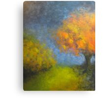 Fall Dialogue Canvas Print