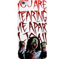 zommby wiseau iPhone Case/Skin