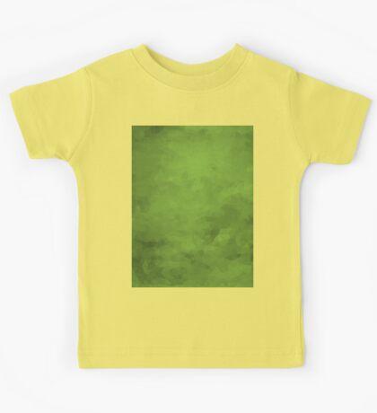 LowPoly Green Kids Tee