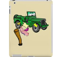 4wd adventure iPad Case/Skin
