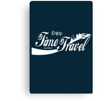 Enjoy Time Travel Canvas Print