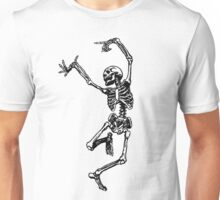 Skeleton Dance Unisex T-Shirt