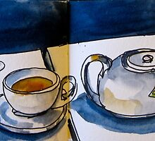 Peppermint Tea at Riley's by Evelyn Bach