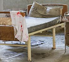 abandoned hospital bed by spetenfia