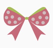 Polka Dot Bow Kids Clothes