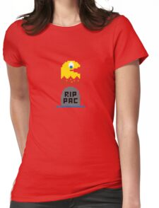 RIP Pacman Womens Fitted T-Shirt