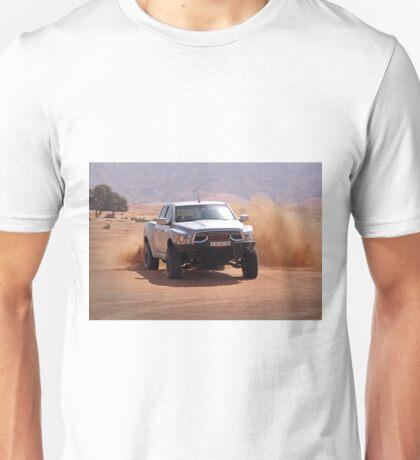 Ram Baja truck tearing through UAE desert Unisex T-Shirt