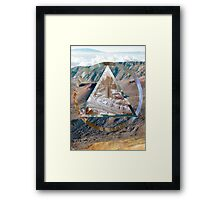 The Hills have Vibes Framed Print