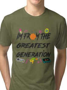1990 Tri-blend T-Shirt