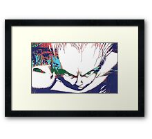 The Descent of Tetsuo Framed Print