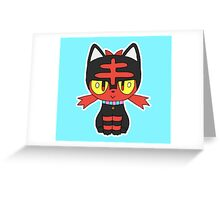 Litten Greeting Card
