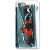 2001 Ferrari F2001 Italian GP iPhone Case/Skin