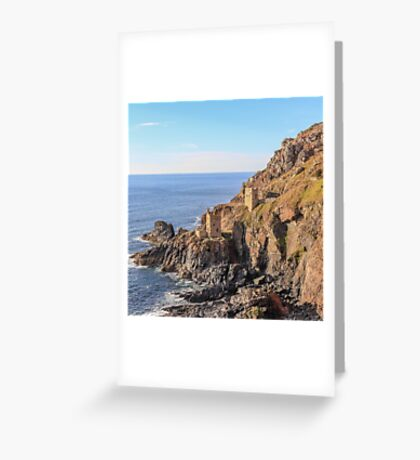 crown mines, botallack Greeting Card