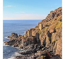 crown mines, botallack Photographic Print