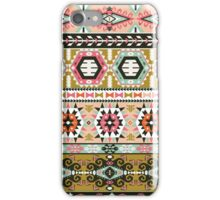 Colorful pattern in tribal style iPhone Case/Skin