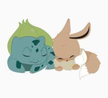 Sleepy Pokemon by beckahbug