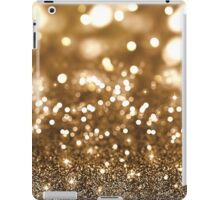 Gold Glitter Bokeh iPad Case/Skin