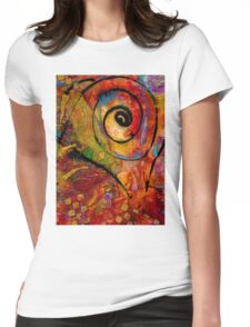 An Artist in Wonderland Womens Fitted T-Shirt