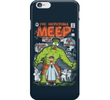 Incredible Meep iPhone Case/Skin