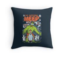 Incredible Meep Throw Pillow