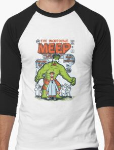 Incredible Meep Men's Baseball ¾ T-Shirt