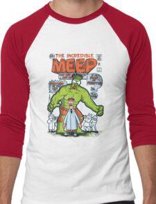 Incredible Meep Men's Baseball ¾ T-Shirt