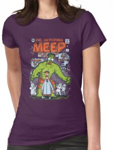 Incredible Meep Womens Fitted T-Shirt