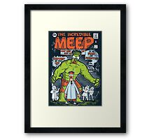 Incredible Meep Framed Print