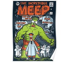 Incredible Meep Poster
